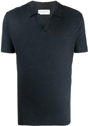 Officine Generale Short-Sleeve Polo Shirt