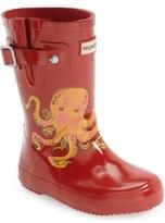 Hunter 'Original - Octopus' Rain Boot (Toddler)