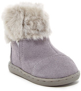 Toms Suede Faux Fur Nepal Boot (Baby, Toddler, & Little Kid)