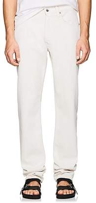 Helmut Lang Men's High-Rise Straight-Leg Jeans - White