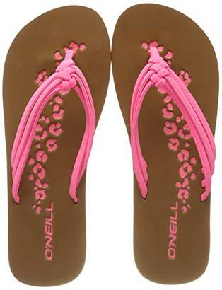 O'Neill Women's Fw 3 Strap Disty Sandals Shoes & Bags, Pink (Shocking Pink 4091)