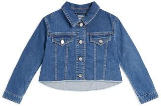 Givenchy Kids Denim Logo Jacket