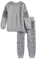 Splendid Toddler Boy's Sweatshirt & Print Sweatpants Set
