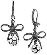 Betsey Johnson Bow Earrings