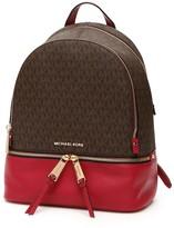 MICHAEL Michael Kors Monogram Rhea Backpack