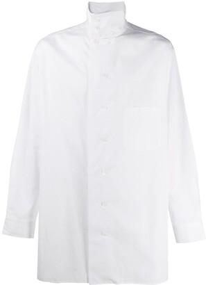 Yohji Yamamoto Oversized Button-Up Shirt