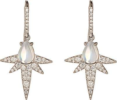 Finn Women's Moonstone Spike Earrings