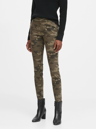 Banana Republic Skinny Camo Chino Pant