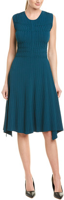 Narciso Rodriguez Textured Knit A-Line Dress