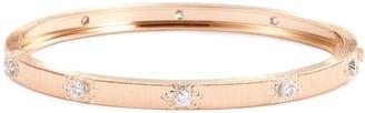Buccellati 'Macri Classica' diamond 18k rose gold bangle