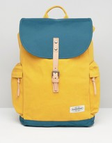 Eastpak Austin Backpack In Yellow & Green
