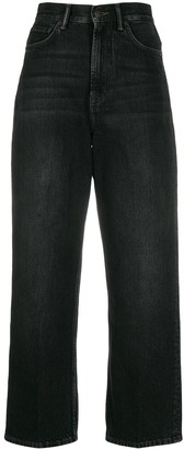 Acne Studios 1993 Straight-Leg Cropped Jeans
