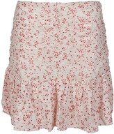 Thumbnail for your product : Ganni Floral Printed Georgette Mini Skirt
