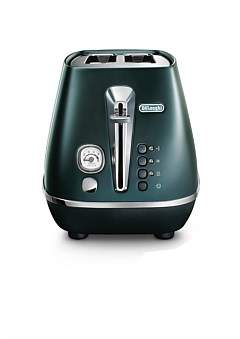 De'Longhi Delonghi Cti2003Gr Distinta Flair 2 Slice Toaster Green
