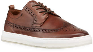 Kenneth Cole Calix 20 Brogue Leather Sneakers