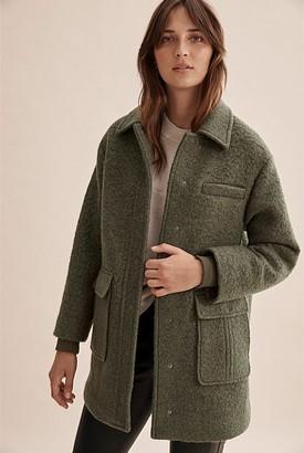 Country Road Wool Pocket Coat