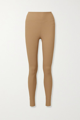 YEAR OF OURS Ribbed Stretch Leggings - Sand