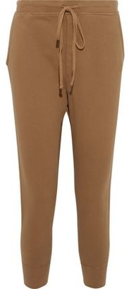 Nili Lotan Nolan Distressed French Cotton-terry Track Pants