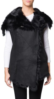 Muu Baa Muubaa Norica Shearling Gilet ( Leather Back )