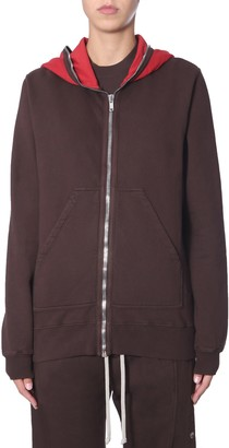 Drkshdw Sweatshirt With Zip And Hood