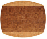 Totally Bamboo 17.3x13.75-in. African Collection Congo Cutting Board