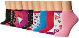 Steve Madden 10-Pack Low Cut - Prints Women's Low Cut Socks Shoes