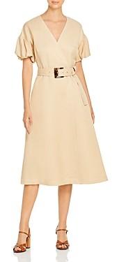 Lafayette 148 New York Bettina Belted A Line Dress