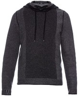 Vince Wool And Cashmere-blend Hooded-sweater