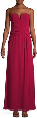 TFNC Diane Slit Maxi Dress