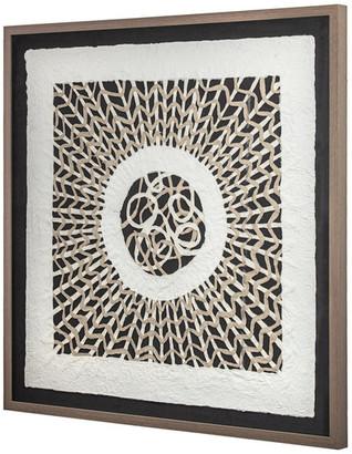 "Crystal Art Handmade Rice Paper Wall Art (31"" x 31"")"