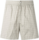 Brioni swimming shorts - men - Cotton/Polyamide - XS