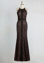 Bariano Champagne Savoring Dress