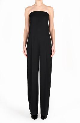 Stella McCartney Hallie Strapless Wool Jumpsuit