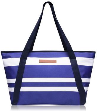 Sunnylife Striped Cooler Bag