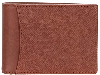 Bosca Small Bifold Wallet w/ Non-RF Blocking Pocket
