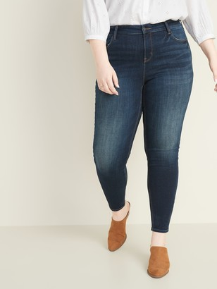 Old Navy High-Waisted Rockstar Plus-Size Super Skinny Jeans