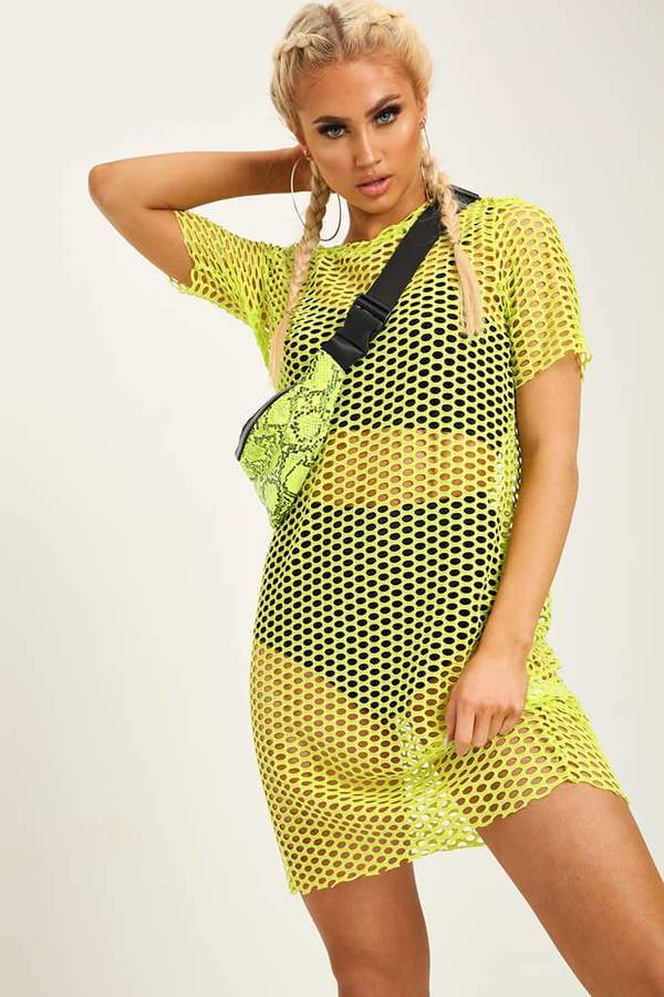 1f3cf10e65d8 Mesh T Shirt Dress - ShopStyle UK
