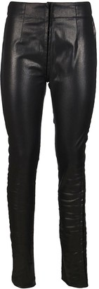 Ann Demeulemeester Faux Leather Pants