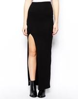 Asos TALL Maxi Skirt With Thigh High Split