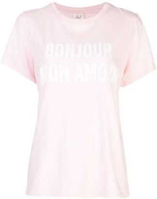 Cinq à Sept Bonjour Mon Amour T-shirt