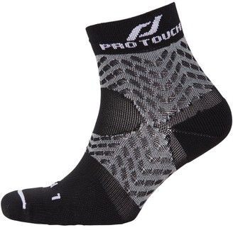 Pro Touch Unisex Compression Low Cut Running Sock Black