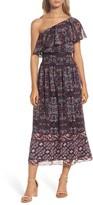 Vince Camuto Women's One-Shoulder Midi Dress