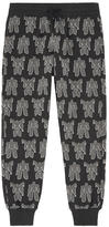 Moschino Printed tracksuit pants