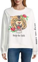 Freeze Keep The Faith Tiger Fleece Sweatshirt- Junior