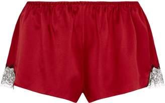 Gilda & Pearl Silk Lace Shorts