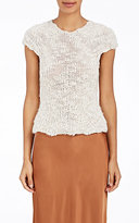 Helmut Lang Women's Silk Rib-Knit Top