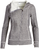 Head Charcoal Heather Asymmetrical-Zip Powder Day Jacket