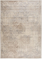 "Nourison Area Rug, East Hampton Flocked Ivory 5'3"" x 7'5"""