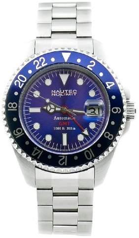 Gents Nautec No Limit Watch Deep Sea Ds Gmt/Stbl