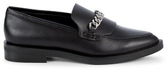 Rebecca Minkoff Pacey Chain Leather Loafers